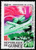 Post stamp from Guinea — Stock Photo