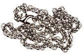 Silver plated chain  — Stock Photo