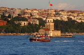 Maiden's Tower I, Istanbul, Turkey — Stock Photo