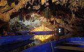 Diros caves entrance — Stock Photo