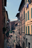 Street view, Siena, Italy — Stock Photo