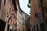 Street view, Siena, Italy — Stock Photo