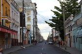 Street in Cienfuegos, Cuba — Stock Photo