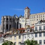 Постер, плакат: 1755 earthquake landmark Lisbon Portugal