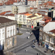 View from Torre dos Clérigos II, Porto, Portugal - Stock Photo