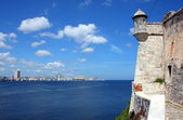 View from Morro fortress, Havana, Cuba — Stock Photo