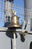 Detail onboard Battleship Averoff, Faliro, Greece — Stock fotografie