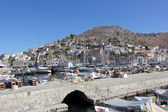 View from the promenade IV, Hydra, Greece — Stock Photo
