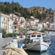 Promenade of Poros island II, Greece — Stock Photo #34291549