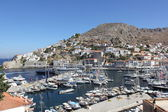Hydra port, Hydra, Greece — Stock Photo