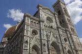 Duomo facade, Firenze, Italy — Stock Photo