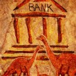 Royalty-Free Stock Photo: Prehistoric bank