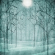 Scary forest illustration — Stock Photo #30816593