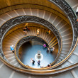 Spiral staircase at Vatican museums - Vaticano - Italy - Stock Photo