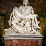 Постер, плакат: Pieta Michelangelo Buonarroti at Vaticano Italy