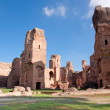 Terme di Caracalla ruins horizontal - Roma - Italy - Stock Photo
