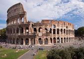 Coliseum view from Foro Romano - Roma - Italy — Stock Photo