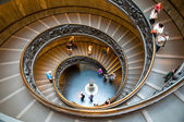 Spiral staircase at Vatican museums - Vaticano - Italy — Stock Photo