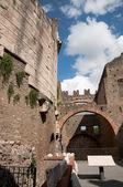 Intérieur du mausolée de cécilia métella à roma - italie — Photo
