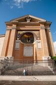 Scala santa vertikala visa på roma - italien — Stockfoto