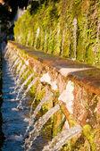 Le cento fontane una villa d — Foto de Stock