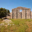 Romruins from Mirine basilicback side in Krk Croatia — Foto Stock #21016553