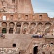 Stock Photo: Walls and arcs inside Colosseum at Rome