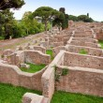 Neptune baths ruins at Ostia Antica - Rome — Stock Photo #21668059