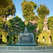 Fontana del Ovato front view in villa D-este at Tivoli — Stock Photo #23200066
