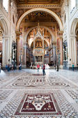 San Giovanni al Laterano Basilica interior in Rome — Stock Photo