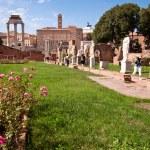 Atrium vestae at Roman forum — Stock Photo