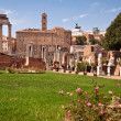 Atrium vestae at Roman forum — Foto de Stock
