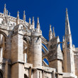Architecture details of Saint Just Cathedral at Narbonne in Fran — Stock Photo