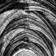Stock Photo: Cloister ceiling arcs at Saint Just Cathedral at Narbonne in Fra