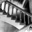 Stock Photo: Stairs handrails inside Palais des Archeveques at Narbonne in Fr
