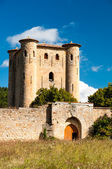 Chateau de Arques tower and main door — Stock Photo