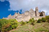 Chateaux de la cite sight from out walls at Carcassonne — Foto de Stock