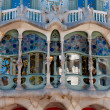 Stock Photo: CasBatllo fachade main window at Barcelona