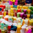 Stock Photo: Juices shop in LBoqueriMarket at Barcelon