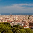 Stock Photo: Graet panoramic view of Barcelona