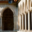 Постер, плакат: Arcs on St Hilaire abbey in Aude