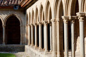Arcs on St Hilaire abbey in Aude — Stock Photo