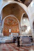 Altare all'interno della basilica di aquileia — Foto Stock