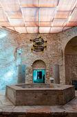 Baptisterium der Basilika di aquileia — Stockfoto