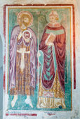 Fresco in Baptistry of Basilica di Aquileia — Стоковое фото
