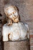 Jesus statue inside Basilica di Aquileia — Stockfoto