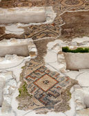 Restored mosaics at Aquileia Basilica — Stock Photo
