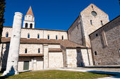 Side of Aquileia Basilica — Stock Photo