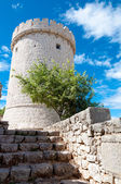 Creska Kula tower in Cres - Croatia — Stock Photo