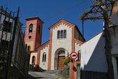 Ancient church in Varazze, Liguria, Italy — Stock Photo